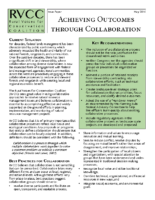Achieving Collaborative Outcomes